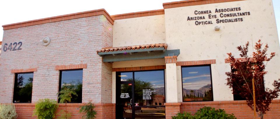 The building of Cornea Associates