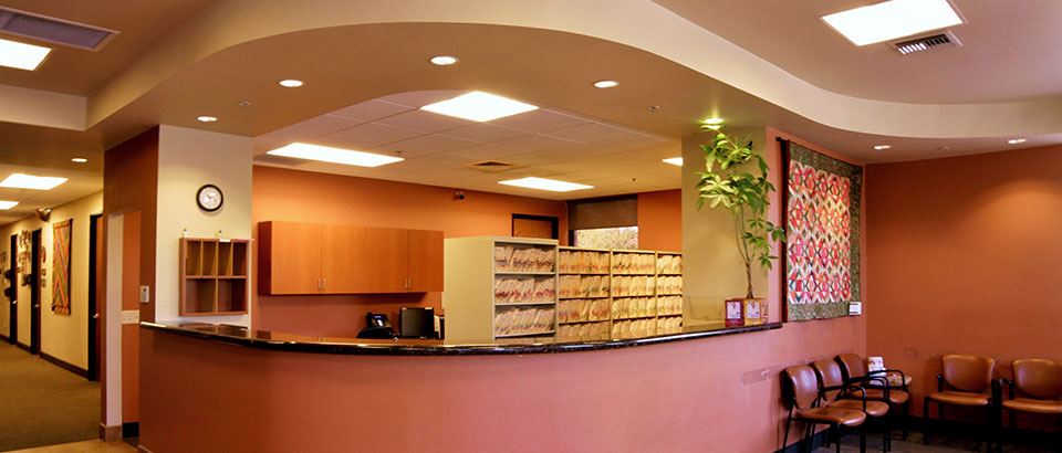 The front lobby of Cornea Associates